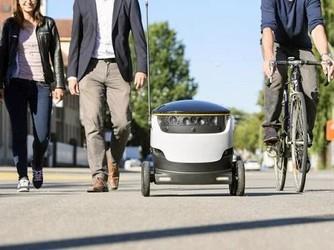 Starship Technologies的机器人开始为大学生提供食物