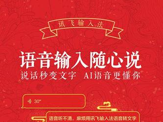 讯飞输入法发布Android新春版 Biu一下敲出美好祝愿!