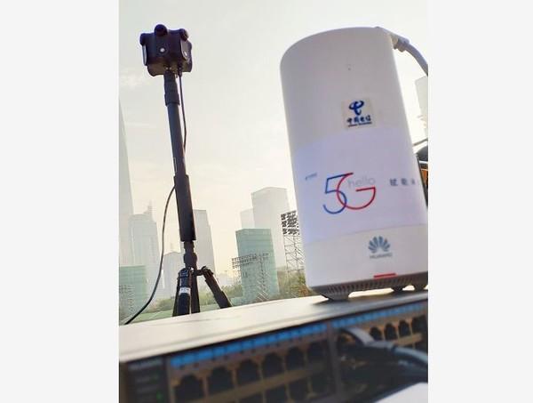 2019春晚深圳分会场的VR相机及5G设备
