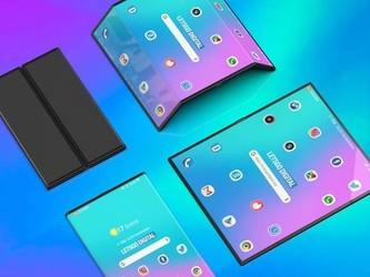 小米双折叠屏手机高清渲染图亮相 造型相当酷炫科幻