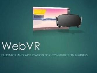 VR技术不再是孤岛 WebVR套件将激发用户创作热情