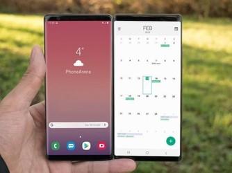 这就是三星Galaxy F折叠屏手机?不就是两台Note9?