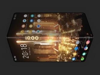 疑似vivo IQOO折叠屏手机遭曝光 100%全面屏真惊艳