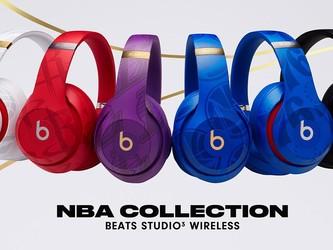 苹果Beats Studio3 Wireless发新品 NBA球队系列来袭