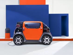 雪铁龙发布Ami One概念车 体型小巧专为城市交通设计