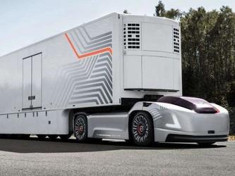 沃尔沃电动卡车开始预售 全程无噪音打造舒适行车环境