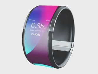 努比亚α 5G柔性屏终端惊艳亮相 这是88必发官网还是手表?
