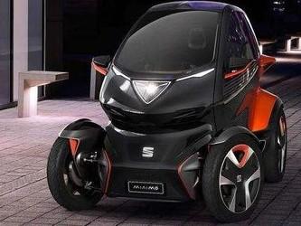 """堪比摩托车体积的""""全电动汽车"""" Minimo就是与众不同!"""
