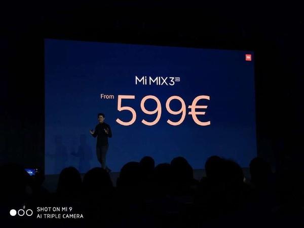 小米MIX 3 5G版价格