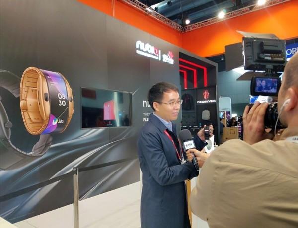 努比亚智能手机总经理倪飞接受央视采访