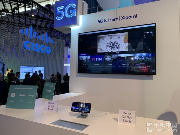 MWC2019高通展台的5G网络演示