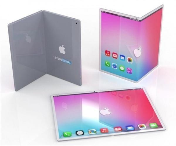 折叠屏iPhone渲染图