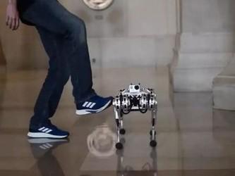 世界首个四足空翻机器人问世 迷你猎豹绝杀波士顿动力