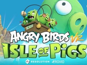 用VR体验《愤怒的小鸟》成真!妈妈我想买HTC Vive