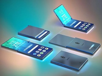 专利显示中兴翻盖式折叠屏手机或在研发中 屏幕超长