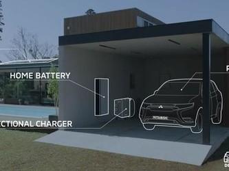 2019日内瓦车展最新消息:三菱推出新型双向电力系统