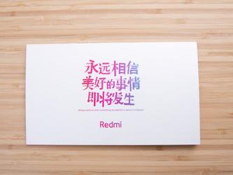 红米Note7 Pro邀请函曝光 P2i双重生活防水果然很有用