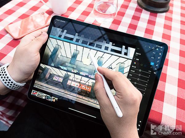 使用iPad Pro修图