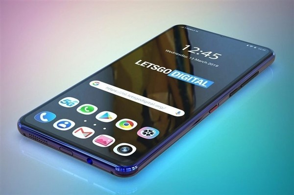 华为双屏手机设计(图源LetsGoDigital)