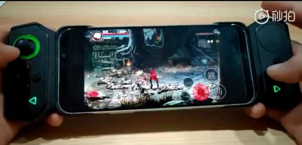 黑鲨游戏手机2真机