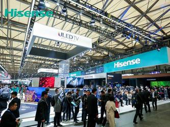 海信5G原型机亮相AWE 2019:加快5G生态系统建设