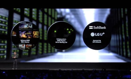 NVIDIA公布了云游戏的合作通讯商LG U+