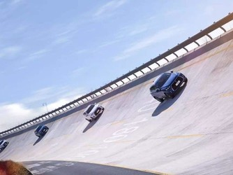 地面汽车进入三维运动模式 飞檐走壁的汽车你见过吗?