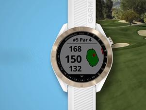 Garmin新款智能手表:时尚轻巧 专为高尔夫球手设计