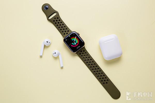 佩戴Apple Watch运动