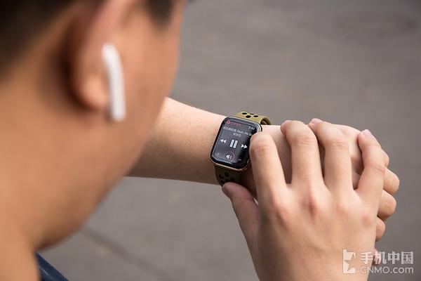 使用Apple Watch听歌