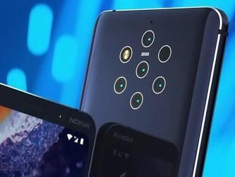 4988港元!首款五摄手机诺基亚9 PureView售价公布
