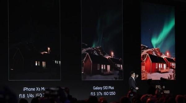 华为P30 Pro拍摄极光
