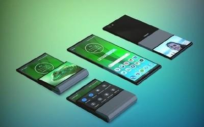 联想折叠手机专利意外走光 加长款带鱼屏原来这样折