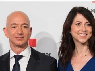 贝索斯离婚后保住全球首富 前妻只留25%亚马逊股权