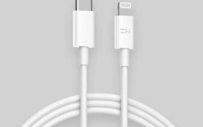 紫米USB-C to Lightning闪电连接线开售 新品首发59元