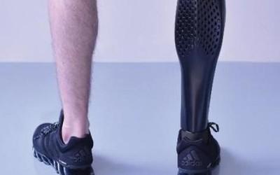 研究人员成功开发集成传感器3D打印假肢 价格亲民!