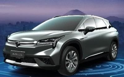 廣汽純電SUV Aion LX亮相上海車展 綜合續航超600km