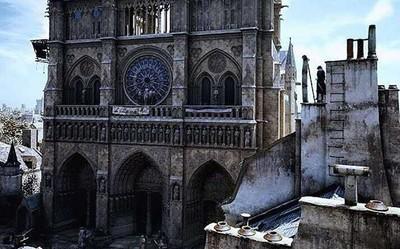 游戏立功!《刺客信条》或能帮助重建巴黎圣母院