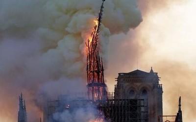 """""""能力越大责任越大""""库克:苹果将帮助重建巴黎圣母院"""