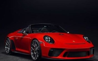 保时捷发布新车型 轻便时尚的911 Speedster即将投产
