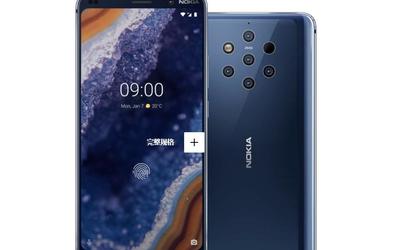 Nokia 9 PureView今日开启预售 五摄拍照神机终于来了