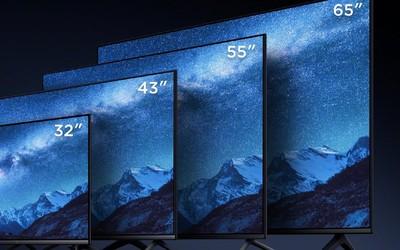 小米连发多款电视新品 全新全面屏电视售价1099起