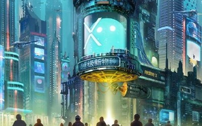 "realme X即将发布 ""越级新物种""5月6日上午十点见!"