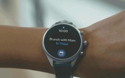 谷歌智能手表推出Tiles功能 滑一滑轻松召唤你想要的
