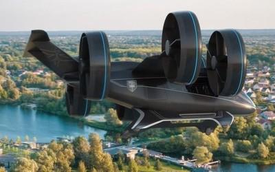 无人驾驶飞上天 巨型乘客无人机亮相芝加哥可载5人
