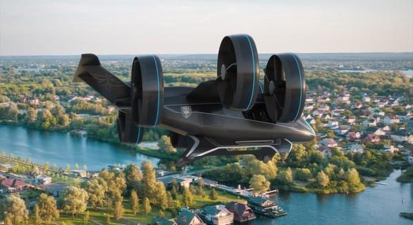 乘客无人机模型Bell Nexus