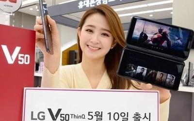 几经周折 LG电子首款5G手机V50 ThinQ今日在韩国发售
