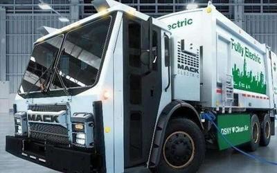 沃尔沃推出全新全电动垃圾车 降噪节能贴心程度满分