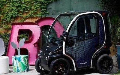 变废为宝 用再生塑料盘成的全电动汽车你愿不愿意开?