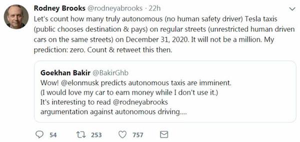 Rodney Brooks的推特